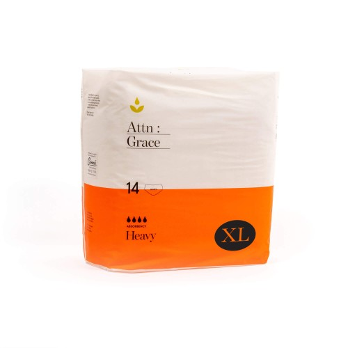Attn: Grace Pull-up Incontinence Brief - Extra Large (56 Pack / Carton)