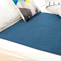 Conni Reusable Bed Pad - Teal Blue