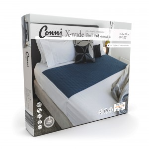 Conni X-wide Reusable Bed Pad with Tuck-ins