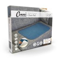 Conni Chair Pad Large - Teal Blue