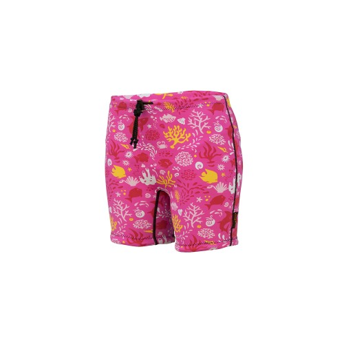 Infant Containment Swim Short - SUNSET PINK **