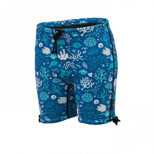 Kids Containment Swim Short - OCEAN BLUE **