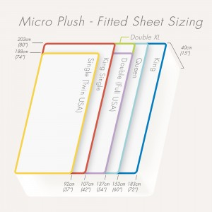 Micro-Plush Waterproof Fitted Sheet
