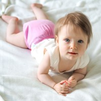 Modern Cloth Nappy - 4mo to 2.5yr - includes 2 inserts - Pink Lemonade
