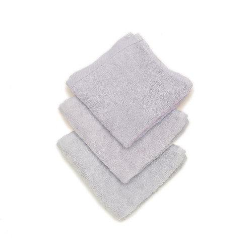 Conni Bubs 100% Bamboo Baby Wipe (3Pack) - Grey