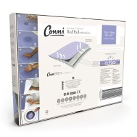 Conni Reusable Bed Pad with Tuck-ins - Mauve