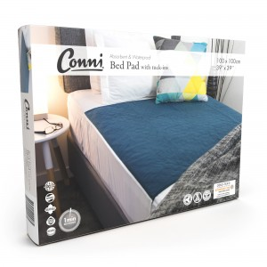Conni Reusable Bed Pad with Tuck-ins - 2PACK